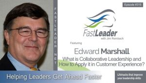 Edward Marshall - What is Collaborative Leadership and How to Apply it in Customer Experience