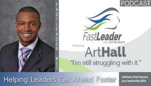 Art Hall Leadership podcast episode