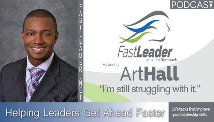 Art Hall Leadership podcast episode