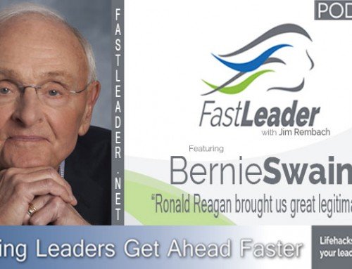 125: Bernie Swain: Ronald Reagan brought us great legitimacy