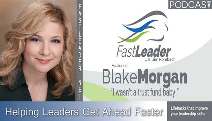 Contact Center Thought leader Blake Morgan