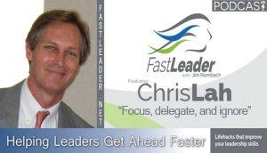 Chris Lah on leadership podcast Fast Leader Show