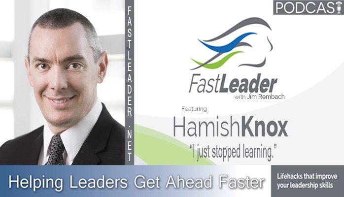 Hamish Knox on the Fast Leader Show | Accountability The Sandler Way