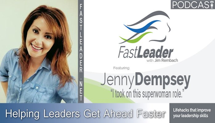 163: Jenny Dempsey: I took on this superwoman role