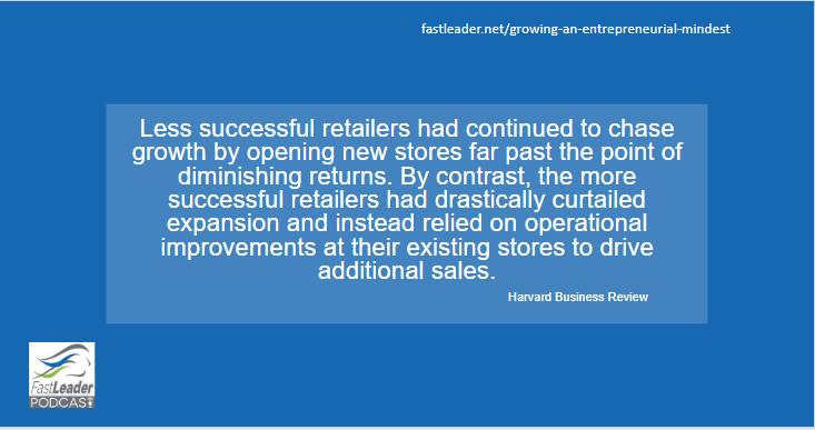 Retail success vs failure