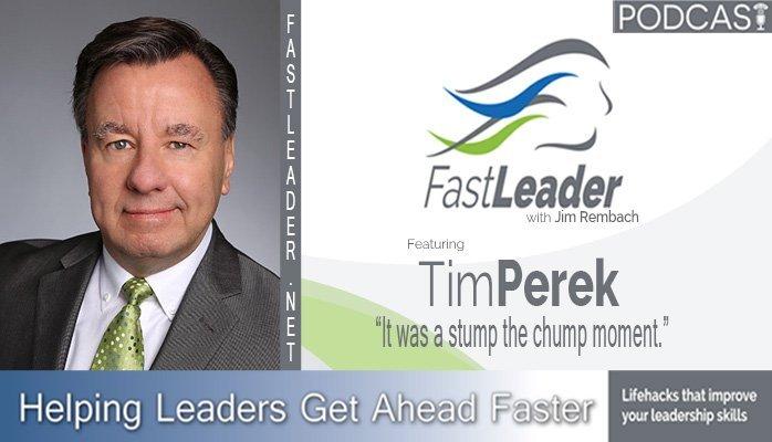 147: Tim Perek: It was a stump the chump moment